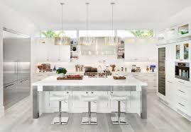 stainless steel kitchens kitchen all white and stainless steel kitchen grey wood floors