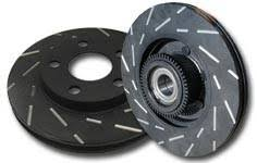 honda civic rotors ebc brakes 2006 2011 honda civic si ebc usr slotted front rotors