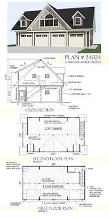 16x20 floor plans two story garage plans ready to use pdf garage plans by behm