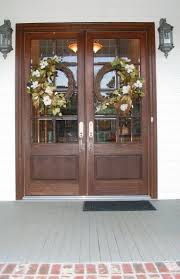 thanksgiving front door decorations best 25 double door wreaths ideas on pinterest entry doors with