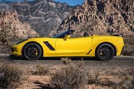 yellow corvette rent a 2016 corvette z06 convertible yellow in las vegas