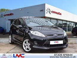 used ford fiesta zetec s black cars for sale motors co uk