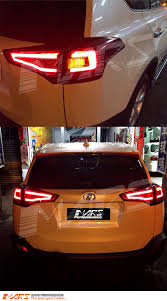 lexus is250 jdm tail lights jdm clear red 3d stripe led bar tail lights toyota rav4 13 15
