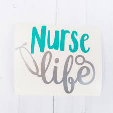 jeep life decal nurse life decal scrub life decal stethoscope vinyl decal