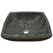 857 butterfly blue granite vessel sink amazon com