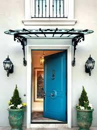 Exterior Door Awnings Magnificent Awning For Front Door Of Awnings Aypapaquerico Info