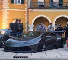 Lamborghini Huracan Liberty Walk - liberty walk lamborghini huracan goes to extremes