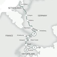 Black Forest Germany Map Zurich U2013 Lucerne U0026 Jewels Of The Rhine Evergreen Tours