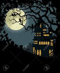 halloween background photos halloween background with haunted house tree crows and cemetery