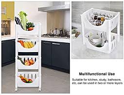 vegetable storage kitchen cabinets vegetable fruit storage rack 4 tier wheeled