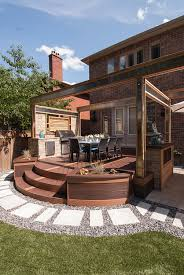 deck backyard ideas hgtv u0027s u0027decked out u0027 the bbq deck paul lafrance design outdoor