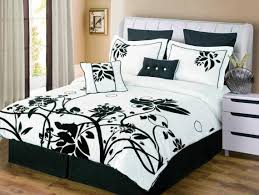 bedding set bewitch black and grey ruffle bedding miraculous