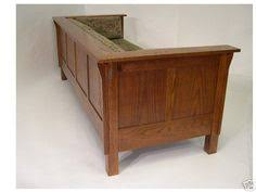 Stickley Mission Sofa by Mission Arts U0026 Crafts Prairie Stickley Style Spindle Club Cube
