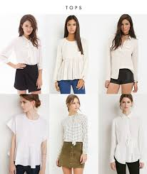 forever 21 white blouse fall favorites from forever 21 crystalin