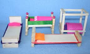 How To Make Furniture by Wooden Clothes Peg Dolls House Furniture Angathome