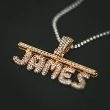 custom necklace pendant custom necklaces gold presidents