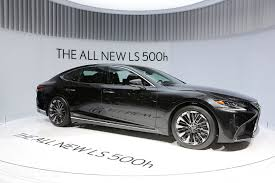 lexus and yamaha 2018 lexus ls 500 f sport will touch down at the 2017 nyias
