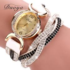 women bracelet watches images Women crystal rhinestone bracelet watch jpg