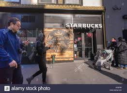 coffee shop in new york a starbucks cafe in on west 34th street in new york seen on sunday