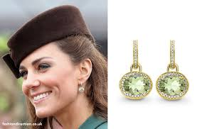 earrings kate middleton kate middleton marks st patricks day 2012 emilia wickstead