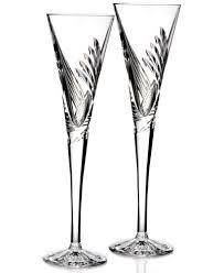 waterford stemware beginnings toasting flutes set of 2 macy s