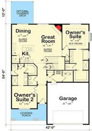 dual master suite house plans dual master bedroom house plans dual master or owner bedroom