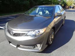 2012 used toyota camry 4dr sedan v6 automatic se at platinum used