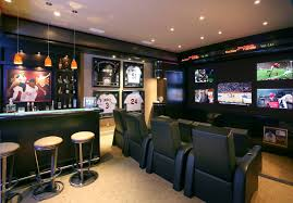 50 best man cave ideas and designs for 2016 sports bars bar and home basement apartment ideas entertainment center
