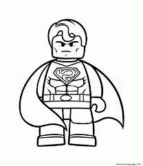 superman vs batman lego coloring pages printable pictureicon
