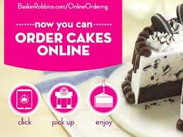 online cake ordering search baskin robbins