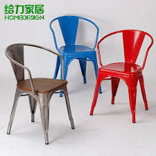 iron chairs metal chair dining chair leisure chair stylish