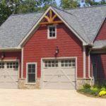 unique garage plans car plan gambrel roof house plans 43770