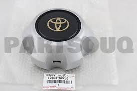 4260360200 genuine toyota ornament sub assy wheel hub 42603 60200