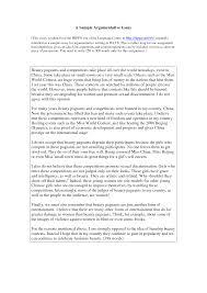 Argumentative Essay Samples For College 300 Words Essay Finance Essay Topics