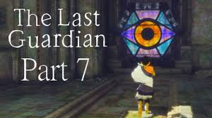 guardian glass doors the last guardian walkthrough part 7 stained glass eyes youtube