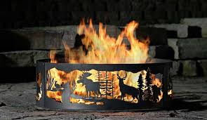 Custom Fire Pit by Campfire Fire Rings Fire Rings Fire Pit Ring Whitetail Fire