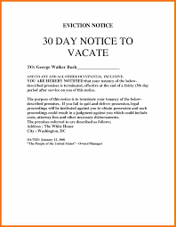 Termination Of Lease Letter Eviction Notice Sample Artresume Sample
