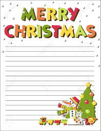 santa claus letters form letters to santa claus with an illustration royalty free