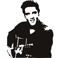 elvis presley clipart elvis silhouette profile pencil and in