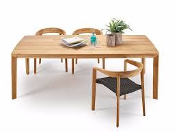 Teak Tables Classic Stainless Steel Rectangular Table Classic Stainless