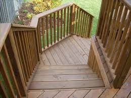 Deck To Patio Transition Wrap Around Deck Stairs Trendy Harwichazek With Wrap Around Deck