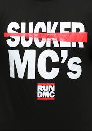 run dmc sucker mc u0027s t shirt