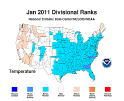 temperature map usa january noaa national oceanic and atmospheric administration noaa