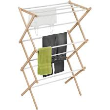 Decorative Clothes Rack Australia by Honey Can Do Wood Accordion Drying Rack Walmart Com