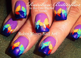 robin moses nail art butterfly nails