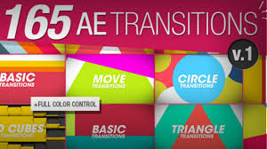 download 165 transitions pack v1 100 free template after