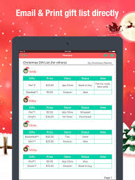 christmas wish list maker christmas planner gifts manager shopping list on the app store