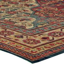 Red And Blue Persian Rug by Antique Kirman Rug Bb5719 By Doris Leslie Blau