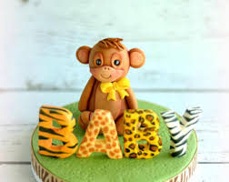 safari cake toppers safari cake topper etsy