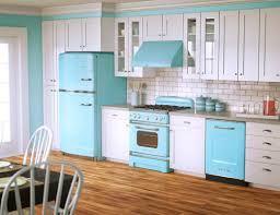 blue white kitchen design using unique light blue kitchen vent